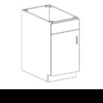 Series 1824-SDSC Full Door Base Cabinet