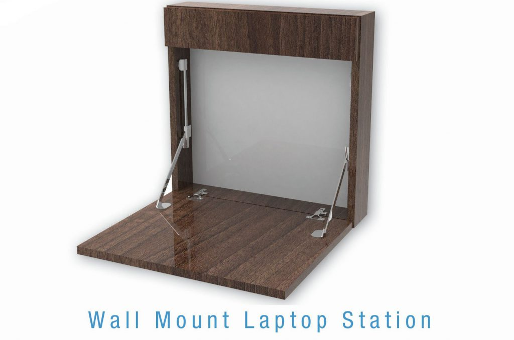 Wall Mount laptop Station
