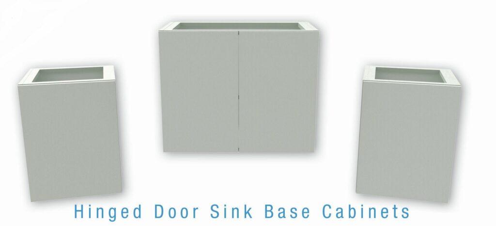 Hinged Door Sink Base Cabinets