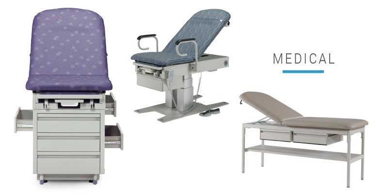Medial Banner with Exam Tables