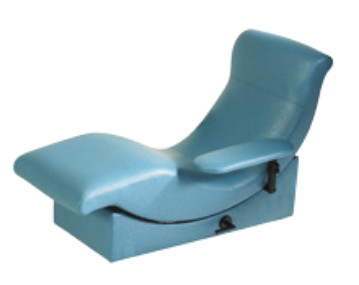650-T2 Blood Donor Chair with Manual Positioning and Dual Adjustable Arms for Mobile Donor Vehicle